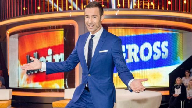 Kai Pflaume freut sich über den Einstieg des ORF in seine Show. (Bild: ORF)