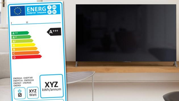 Verwirrende Label wie A+++ für die sparsamsten Geräte verschwinden. (Bild: Sony, eup-network.de)