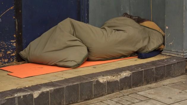 Obdachloser (Symbolbild) (Bild: thinkstockphotos.de (Symbolbild))