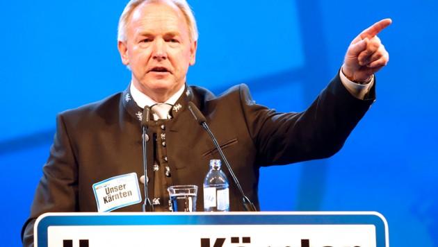 Gerhard Dörfler (Bild: APA/GERT EGGENBERGER)