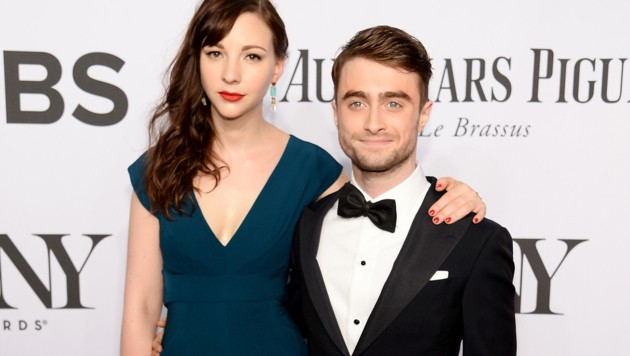 Daniel Radcliffe mit Erin Drake (Bild: Dimitrios Kambouris/Getty Images for Tony Awards Productions/AFP)