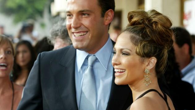 Ben Affleck und Jennifer Lopez waren von 2002 bis 2004 das Hollywood-Traumpaar. (Bild: Kevin Winter/Getty Images North America/AFP)