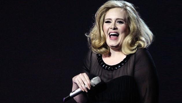 Adele im Jahr 2016 (Bild: AP/Joel Ryan)
