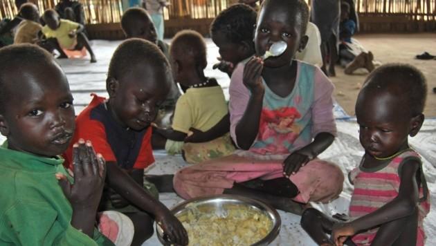Hungersnot im Südsudan (Bild: Caritas)