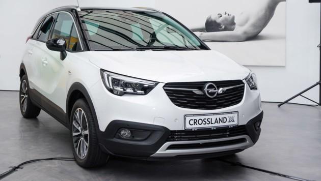 Opel Crossland X bei der Präsentation in Wien (Bild: Opel)