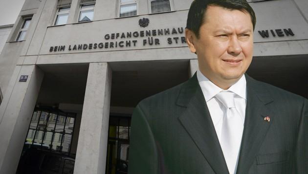 Nach dem Tod des kasachischen Ex-Botschafters Rakhat Aliyev (Bild) in der Justizanstalt Josefstadt vor fünf Jahren ist nun auch dessen Sohn verstorben. (Bild: APA/HBF/DRAGAN TATIC, APA/ROLAND SCHLAGER)