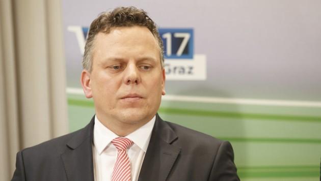 Michael Ehmann, Spitzenkandidat der Grazer SPÖ (Bild: APA/ERWIN SCHERIAU)