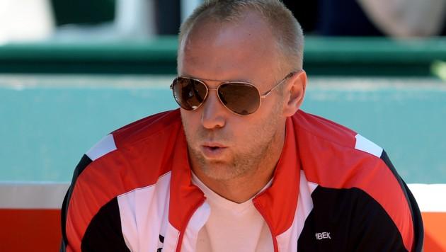 Davis-Cup-Kapitän Stefan Koubek (Bild: APA/ROLAND SCHLAGER)