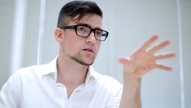 Identitären-Chef Martin Sellner