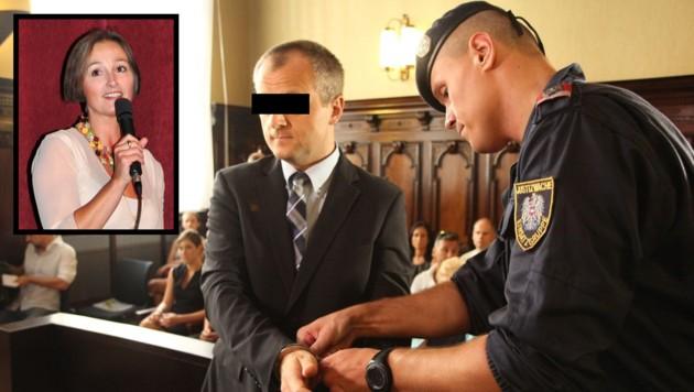 Der Gmundner Helmut St. wurde für den Mord an Ingrid Sch. zu 20 Jahren Haft verurteilt.