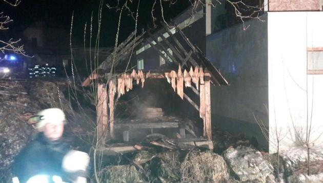 Die stillgelegte Mühle brannte komplett ab