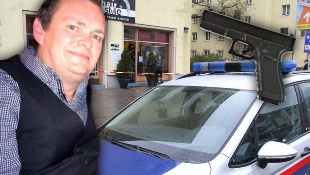 """Der 46-Jährige Friseur wurde in dem Geschäft erschossen. (Bild: ANDI SCHIEL, thinkstockphotos.de, """"Krone"""")"""