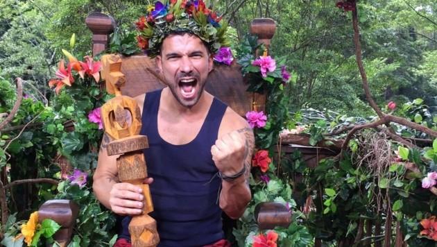 Marc Terenzi ist der Dschungelkönig 2017. (Bild: RTL)