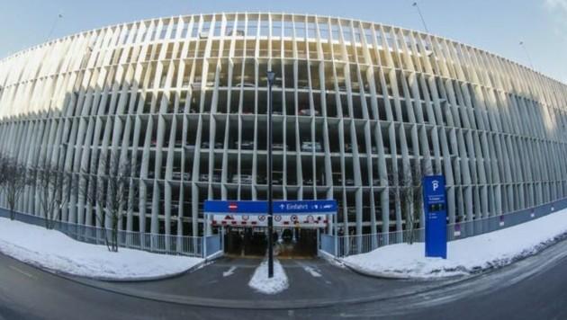 Das neue Parkhaus in der Uni-Klinik Salzburg wurde in Rekord-Zeit errichtet.
