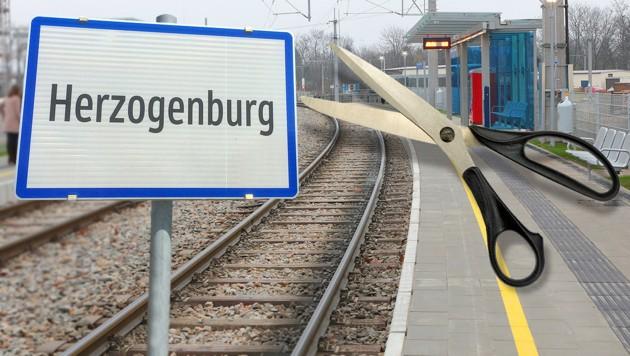 Auf einem Bahnsteig, ähnlich diesem, in Herzogenburg (NÖ) kam es zu der Sex-Attacke auf den Buben. (Bild: APA/WLB Schweinester, Christoph Matzl, thinkstockphotos.de)