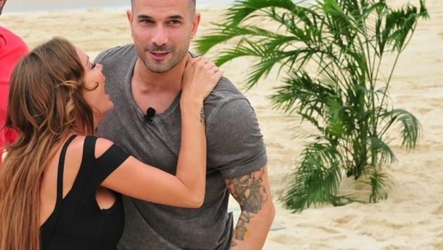 Gina-Lisa und Marc (Bild: RTL)