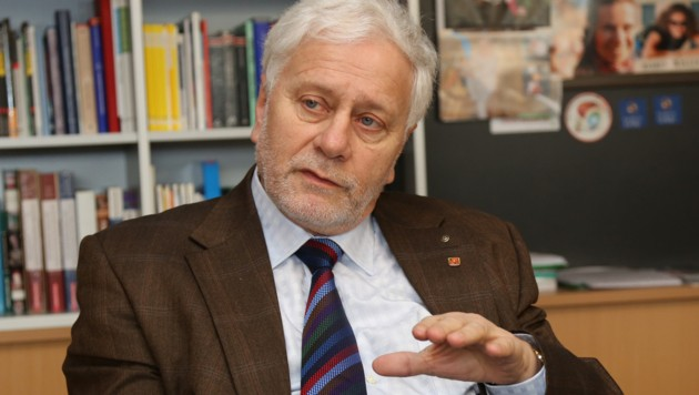 Professor Dr. Friedrich Schneider (Bild: Chris Koller)