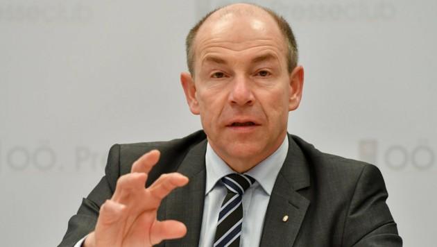 """Landesrat Max Hiegelsberger will """"nichts gewusst"""" haben."""