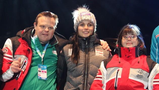 "Ski-Superstar Anna Veith ist Botschafterin der ""Special Olympics"""