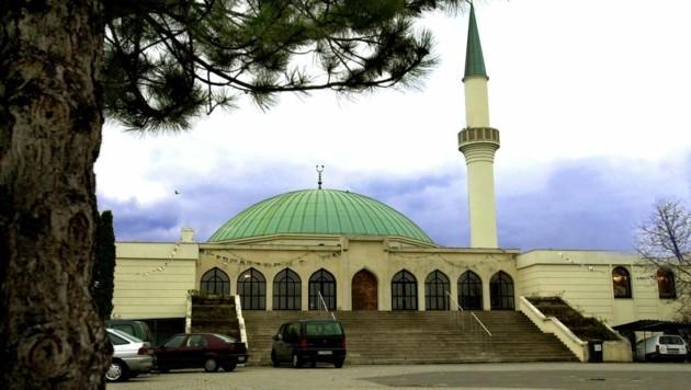 Die Moschee bei der Donauinsel in Wien-Floridsdorf (Bild: APA/BARBARA GINDL)