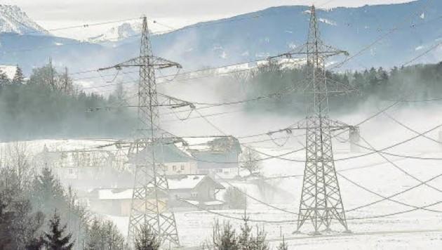 Hässlich, eine Uralt-Technik und gefährlicher Elektro-Smog: Salzburg und seine 380er-Masten