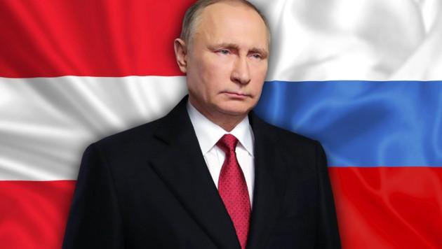 Russlands Präsident Wladimir Putin reagierte auf die EU-Sanktionen mit Gegensanktionen. (Bild: AP/Mikhail Klimentyev, thinkstockphotos.de)