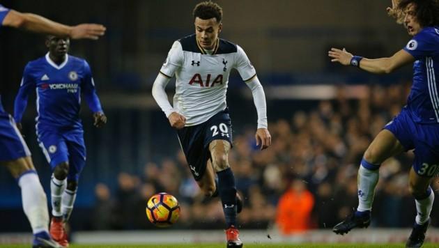 Tottenham-Ass Dele Alli im Vorwärtsgang (Bild: AFP)