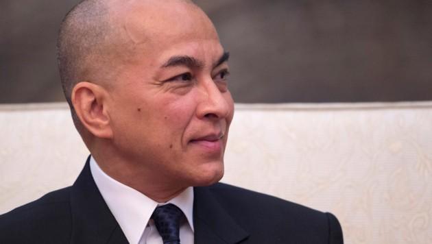 Kambodschas König Norodom Sihamoni