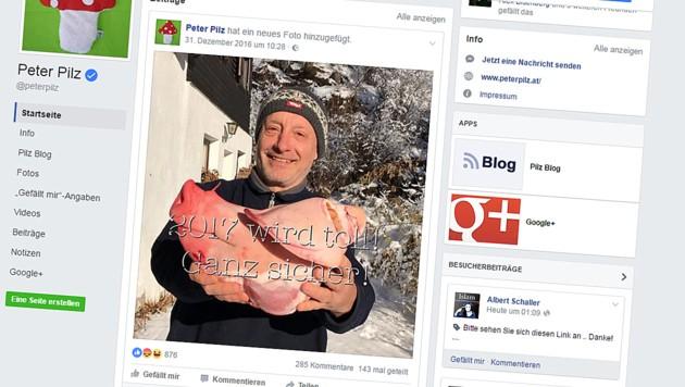 Vielen Facebook-Usern stieß der Neujahrsgruß des Grünen-Politikers sauer auf.