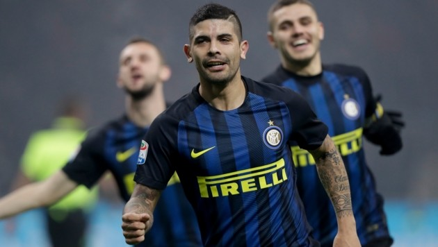 Inter Mailands Ever Banega (Bild: Associated Press)