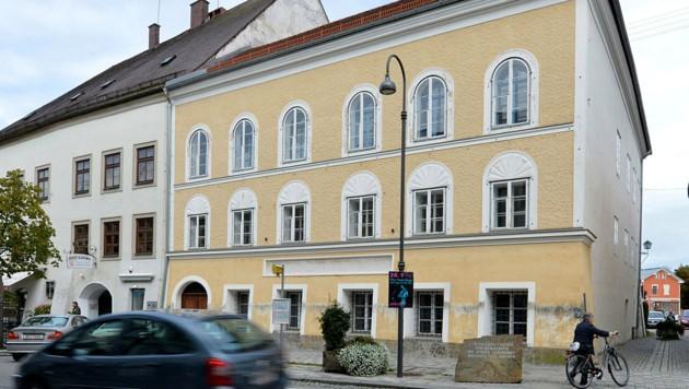 Das Hitler-Geburtshaus in Braunau (Bild: Associated Press)