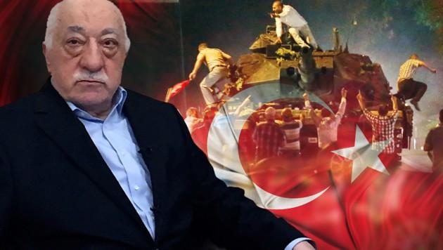 Fethullah Gülen - einst Weggefährte, nun erbitterter Feind Erdogans (Bild: APA, AFP/Thomas Urbain, thinkstockphotos.de)