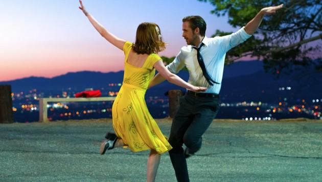 "Ryan Gosling und Emma Stone in ""La La Land"" (Bild: AP)"