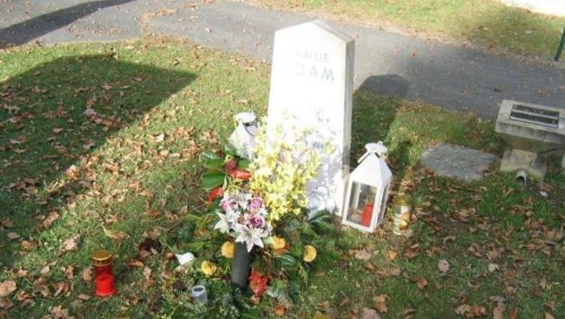 """Das """"neu"""" errichtete Grab in 100 Meter Entfernung vom alten Standort (Bild: KK)"""