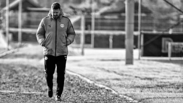 Was tüftelt Salzburg-Trainer Oscar fürs Schalke-Match aus? (Bild: Andreas Tröster)