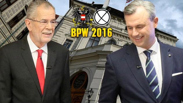 Der Präsidentschaftswahlkampf 2016 sorgte in der EU für große Besorgnis. (Bild: AP, APA/HELMUT FOHRINGER)