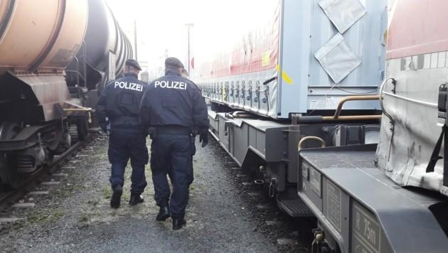 Güterzüge sollen genau kontrolliert werden. (Bild: ÖBB)