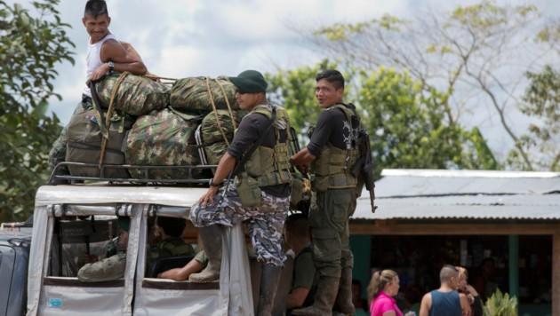 FARC-Kämpfer