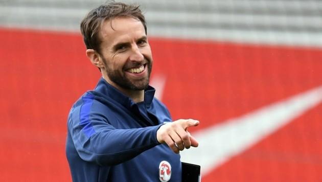 Englands Fußball-Teamchef Gareth Southgate (Bild: AFP)