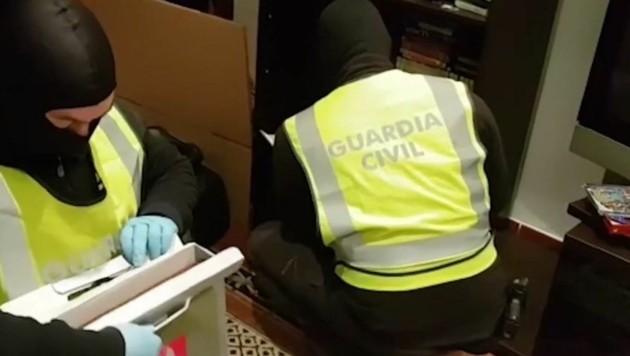 (Bild: Guardia Civil Interior)