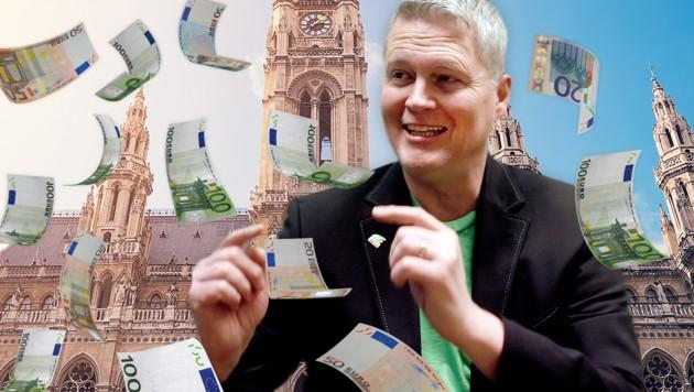 Will Sozialhilfe erhöhen, statt senken: Wiens Grünen-Klubobmann David Ellensohn (Bild: thinkstockphotos.de, APA/GEORG HOCHMUTH)
