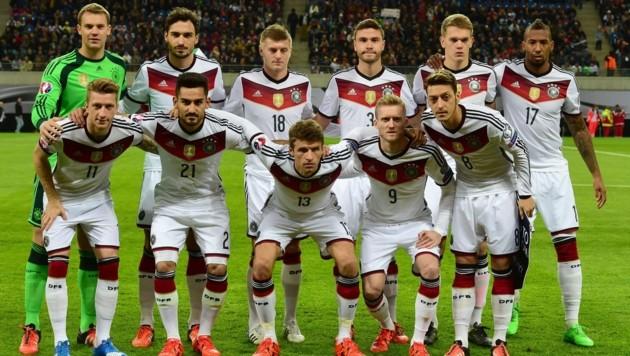 Eine DFB-Startelf aus dem Jahr 2015 ... (Bild: AFP)