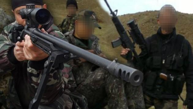 Diese Waffen aus Österreich sollen von türkischen Truppen für Kriegseinsätze verwendet werden. (Bild: twitter.com)