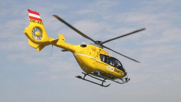 Hubschrauber musste ausrücken (Bild: Christian Jauschowetz)