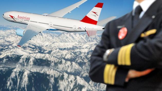 (Bild: APA/Austrian Airlines, dpa)