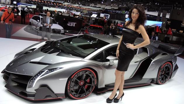 Der Lamborghini Veneno auf dem Genfer Salon 2013