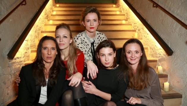 Maria Köstlinger, Nina Proll, Adina Vetter, Martina Ebn, Gerti Drassl