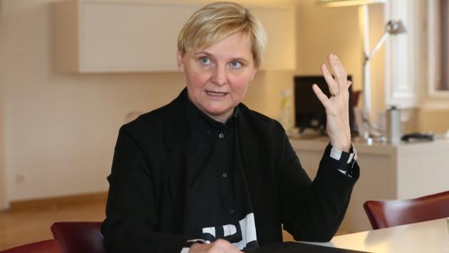 Integrationsstadträtin Sandra Frauenberger