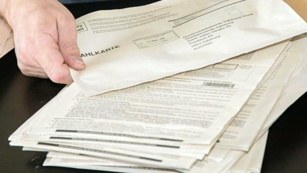 Die Wahlkarten sorgen wieder einmal für Aufregung. (Bild: APA/NEUMAYR/MMV)