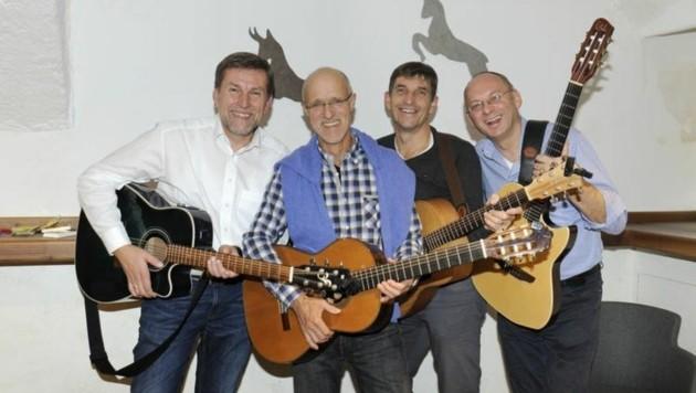 Lungau-Combo: Karner, Innauer, J.Schmalz, P. Santner (Bild: Roland Holitzky)
